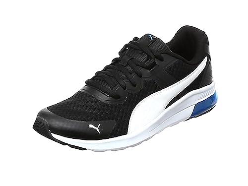 Puma Electron, Zapatillas de Deporte Unisex Adulto, Gris (Asphalt Black-Blazing Yellow-Silver), 37 EU: Amazon.es: Zapatos y complementos