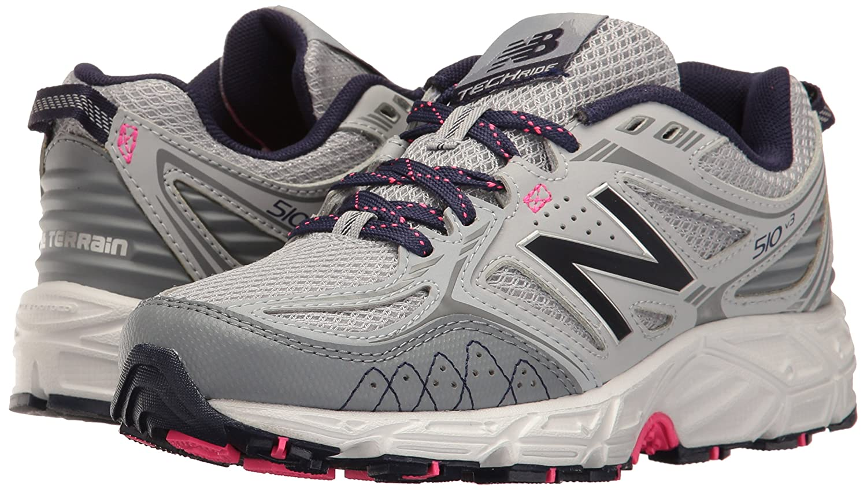 New Balance Women's WT510V3 Trail Running Shoe B01M17DW6L 5.5 B(M) US|Silver Mink/Gunmetal