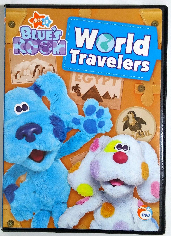 amazon com blue u0027s clues blue u0027s room world travelers movies u0026 tv