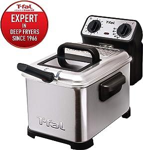 T-fal FR4049 Family Pro 3-Liter Oil Capacity Electric Deep Fryer