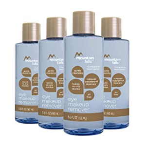 Mountain Falls Oil-Free Gentle Cleansing Eye Makeup Remover, 5.5 Fluid Ounce (Pack of 4)
