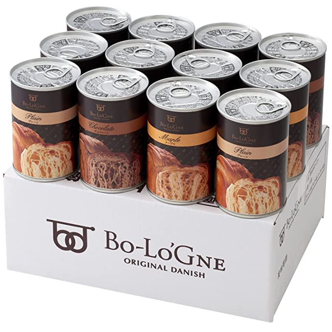 Bolonia Bolonia puede de 12 latas de 2,5 kg conjunto