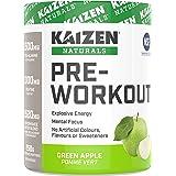 KAIZEN NATURALS pre-workout, Green Apple, 258 gram
