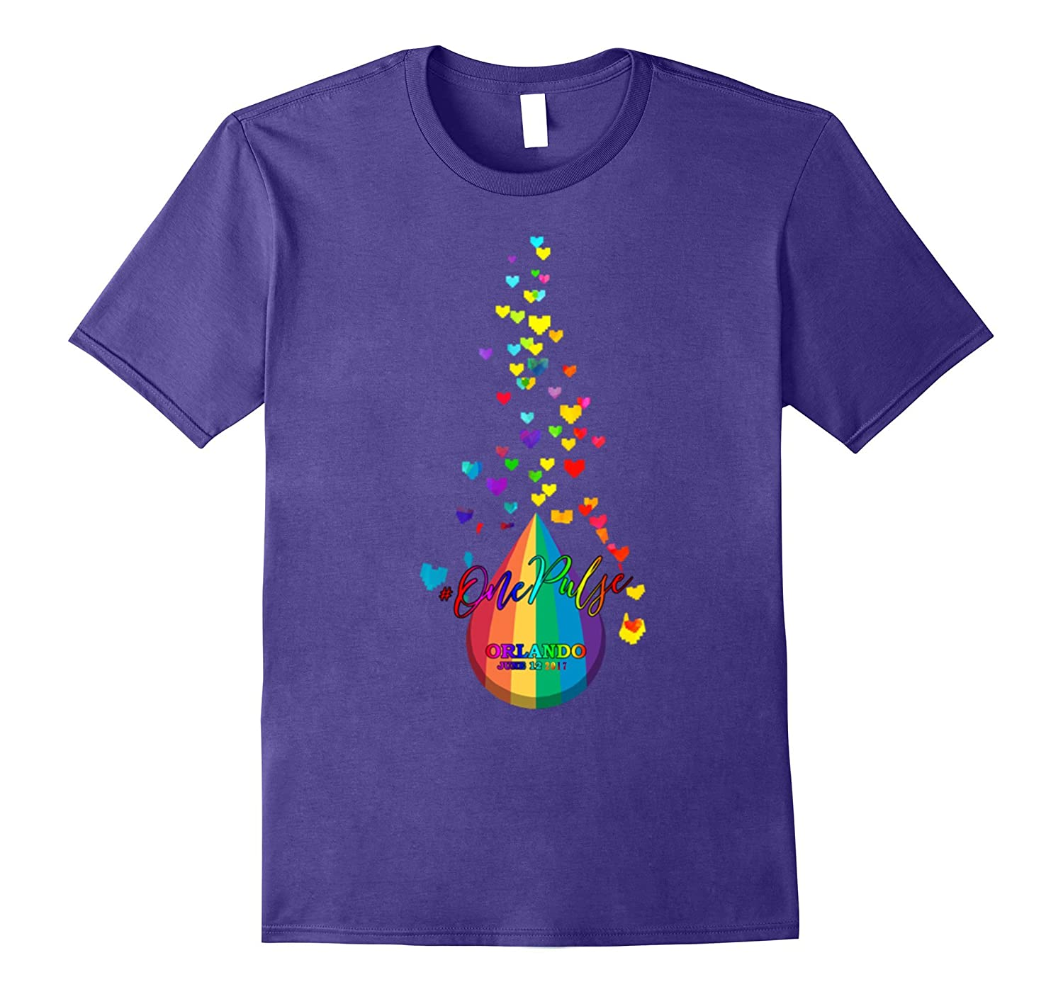 One Pulse orlando June 12 2017 Shirt National Equality Marc-CD