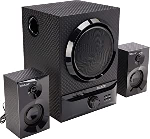 Boytone BT-209FD Wireless Bluetooth Main unit, Powerful Sound & Bass, 30 watt, excellent clear sound & FM radio, Remote control Aux Port, USB/SD/ for Smartphone's, Tablets, Computers, Home Theater