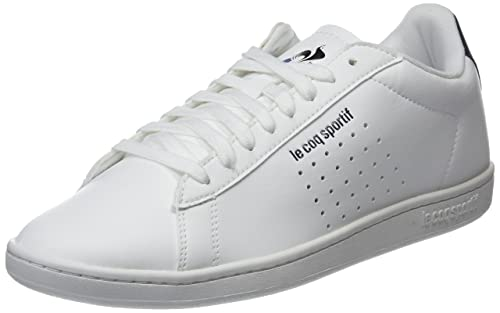 Le Coq Sportif Courtset Sport Optical White/Dress Blue, Zapatillas para Hombre: Amazon.es: Zapatos y complementos