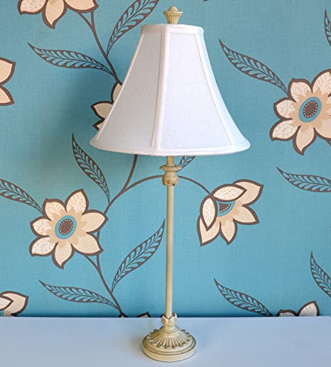 Torino Shabby Chic Cream Lamp 64cm tall: Amazon.co.uk: Kitchen & Home