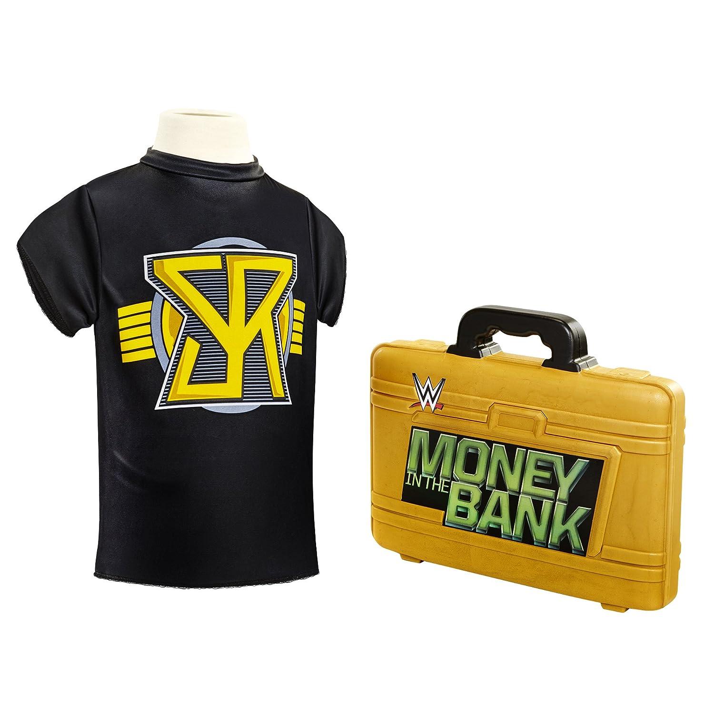 WWE Seth Rollins Dress Up With Foam Money In The Bank Briefcase Jakks 02237