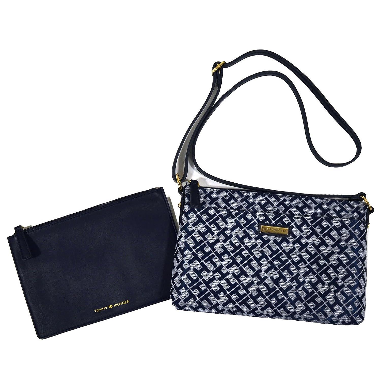 Amazon.com: Tommy Hilfiger Crossbody con bolsa en color azul ...