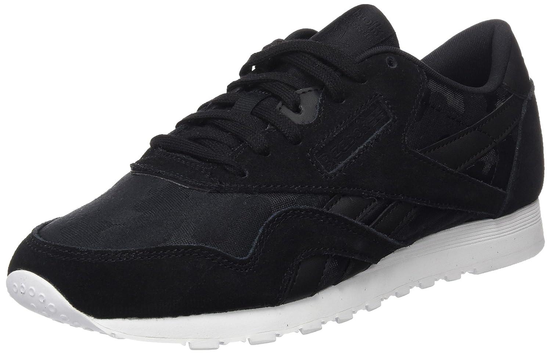Noir (noir blanc) Reebok Cl Nylon, Chaussures de Running Femme 38 EU