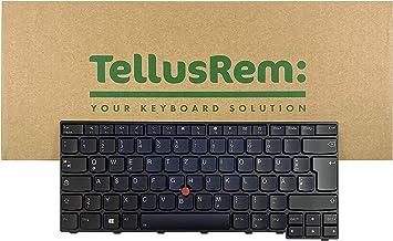 Teclado de respuesto Alemán retroiluminado para Lenovo Thinkpad T470s