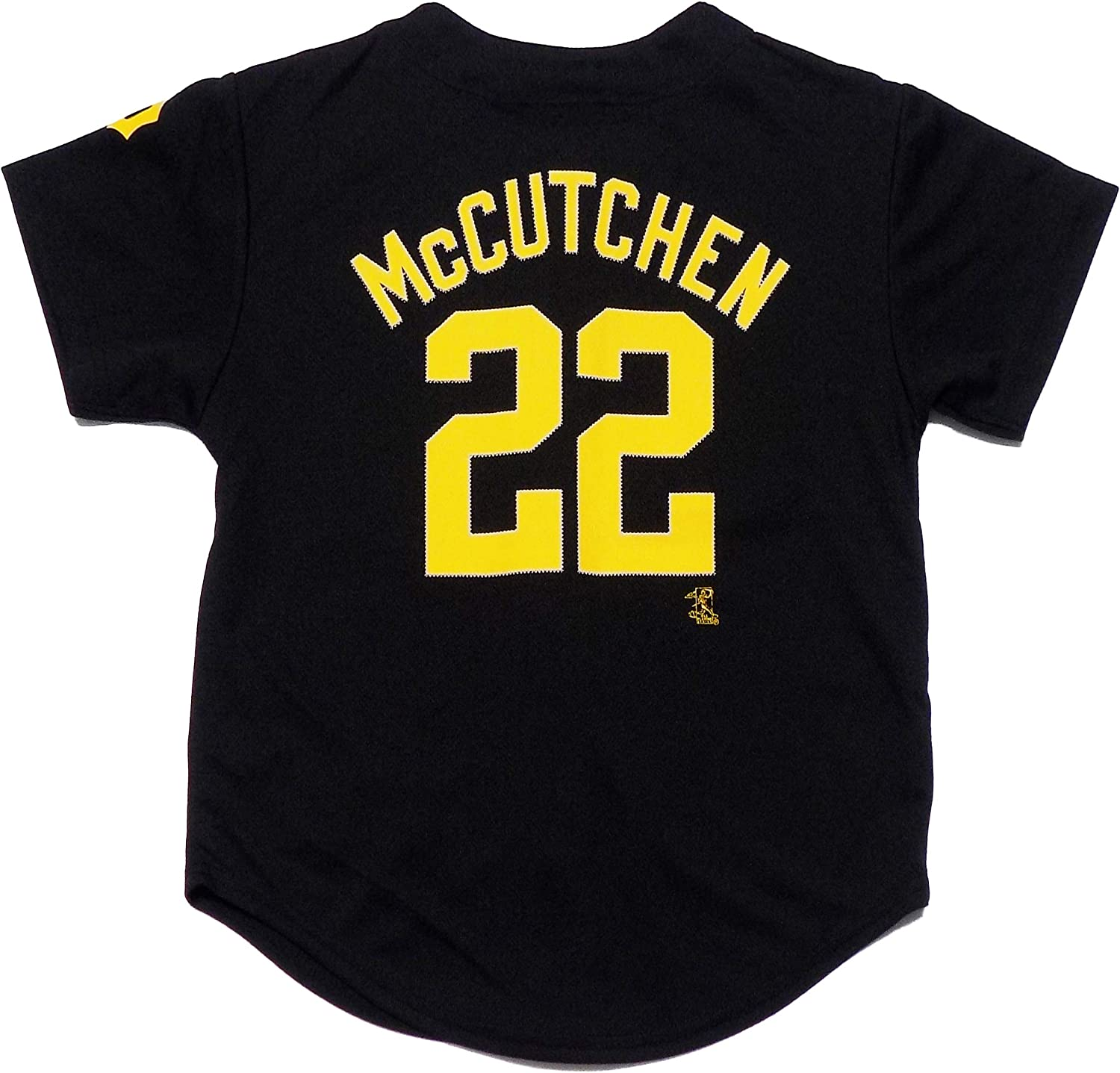 Outerstuff Andrew McCutchen Pittsburgh Pirates #22 Black Youth Player Fashion Jersey