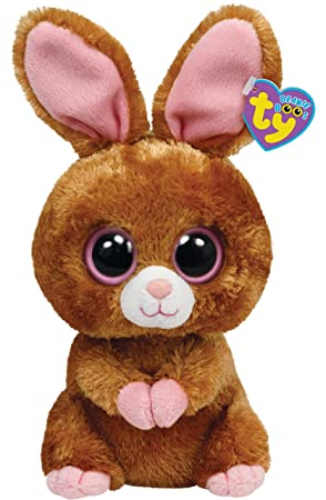 Ty 36981 - Beanie Boos Hopson, peluche de liebre (24 cm), color