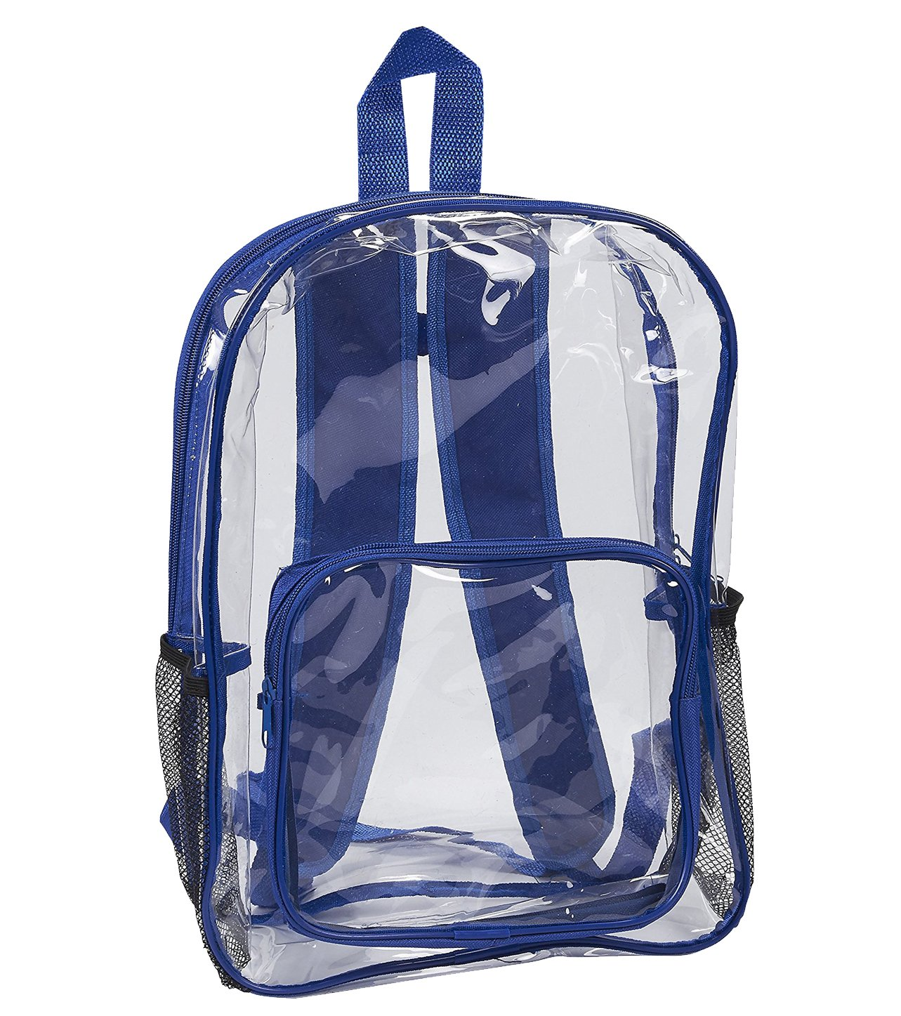 Clear Security Backpack - Waterproof Transparent Bag for Travel and Sports Events