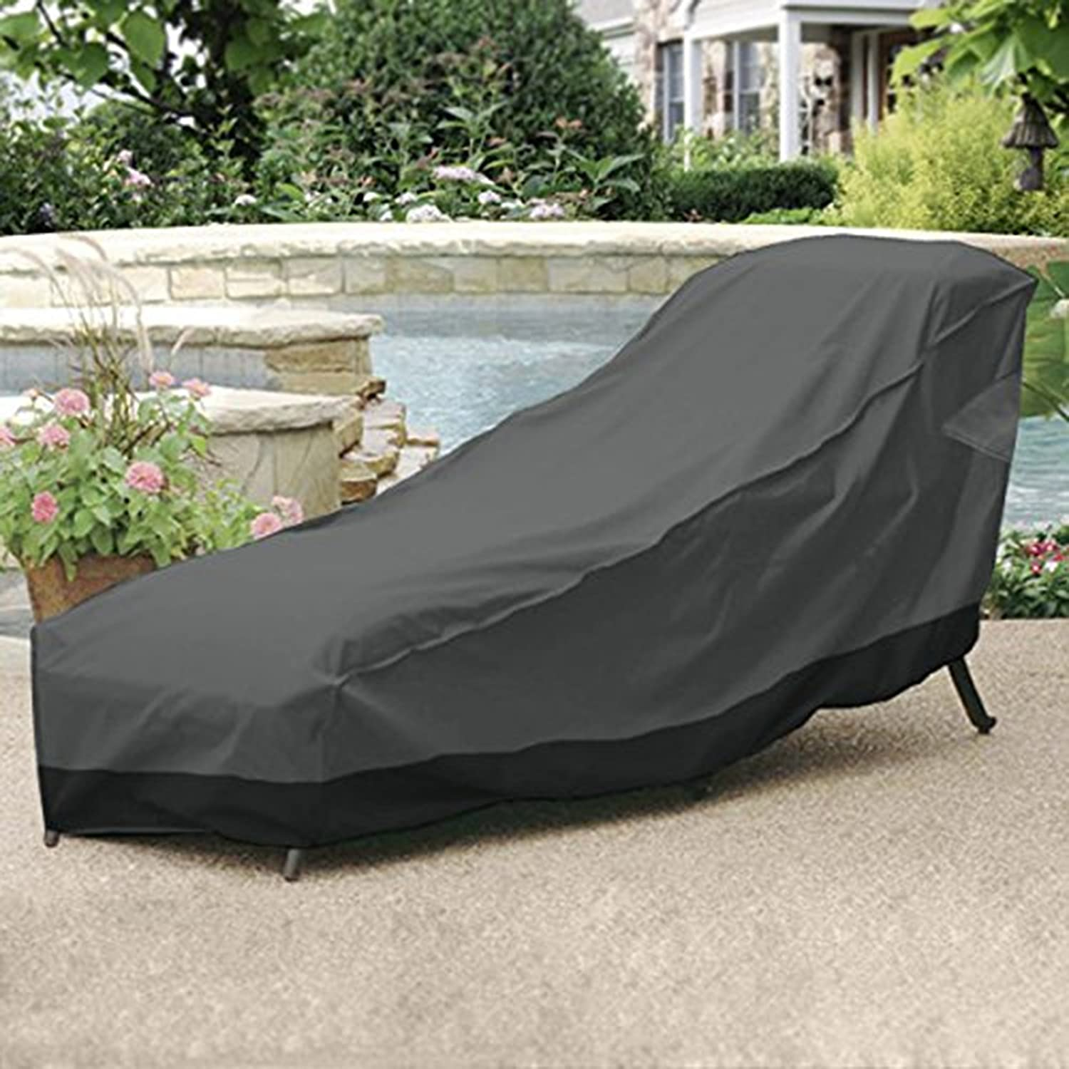 "Amazon Outdoor Patio Chaise Lounge Chair Cover 78"" Length"