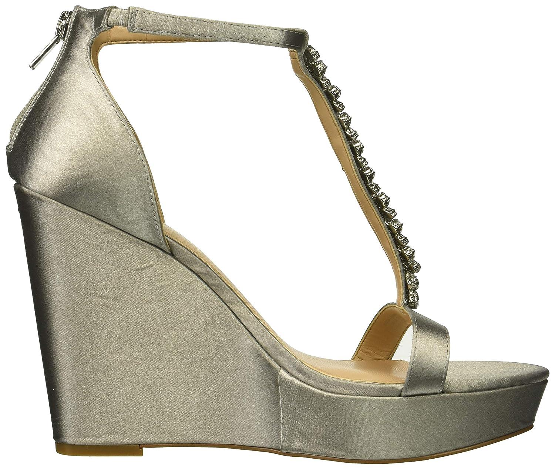 M065 M US silver Jewel Badgley Mischka Womens JANUARY Sandal