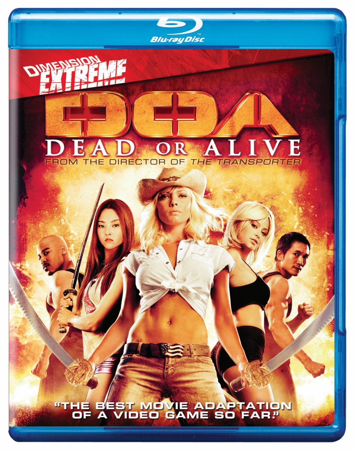 Amazon Com Doa Dead Or Alive Blu Ray Jaime Pressly Devon