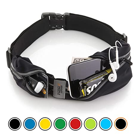 Unisex Women Men LED Waist Bag Running Pack Belt Portable Light Sport Phone Kit