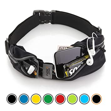 Sport2People Running Belt - Cinturon de running iPhone 6, 7 Plus para corredores - Mejor