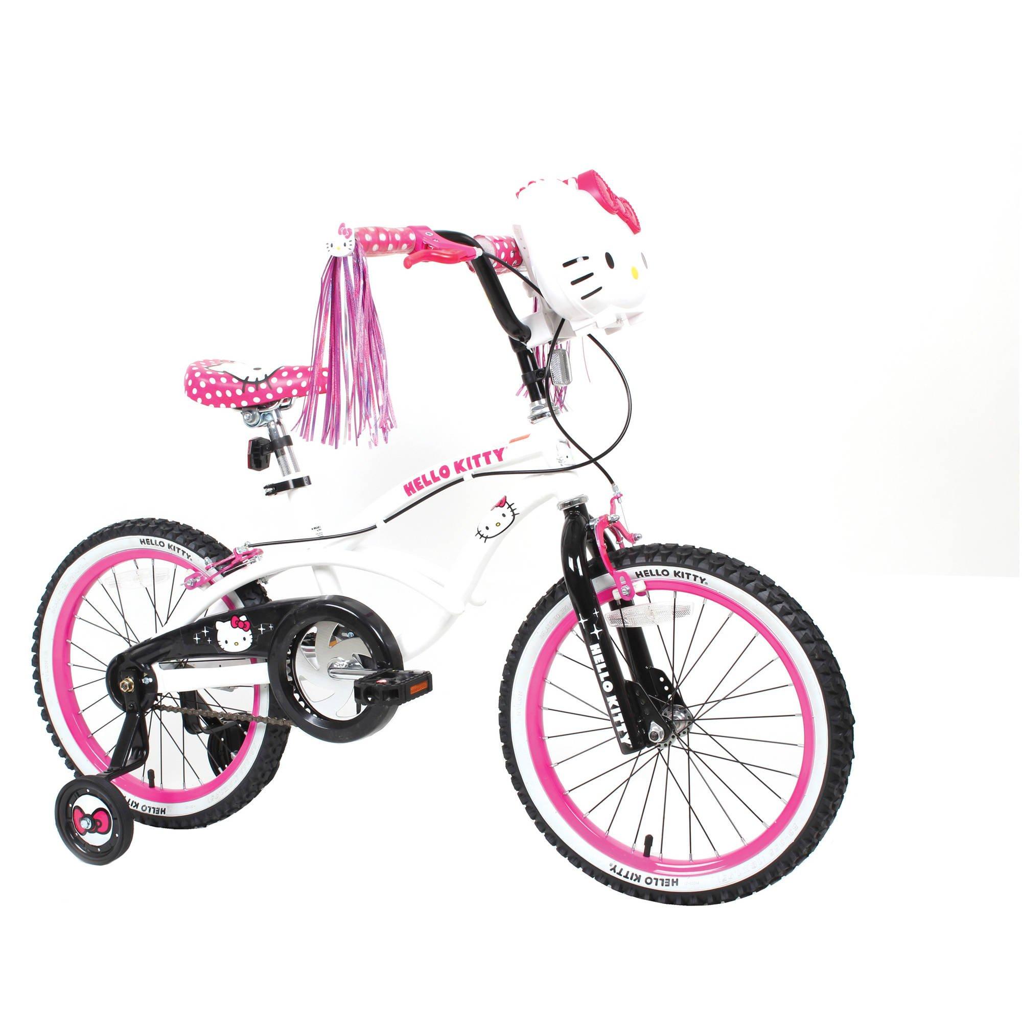 18'' Hello Kitty Girls' Sidewalk Bike, White