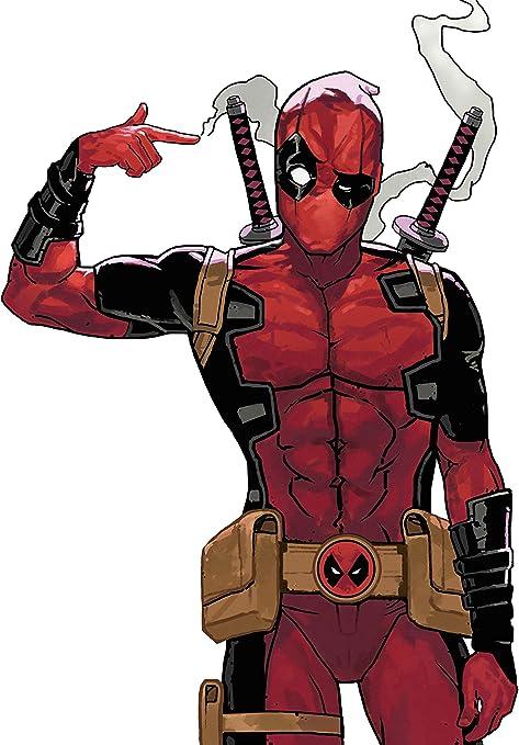 Deadpool Iron On Transfer Light or Dark Fabrics 5 x 7 Size