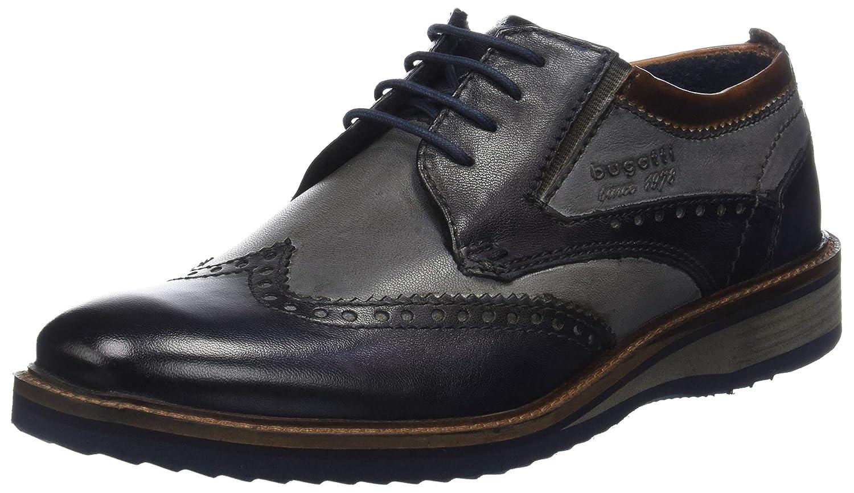 TALLA 41 EU. Bugatti 3.11599e+11, Zapatos de Cordones Derby para Hombre