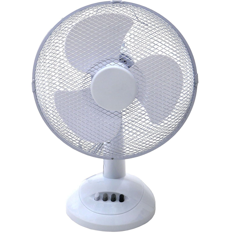 Generic 5024996156225 12-Inch Oscillating Desk Fan