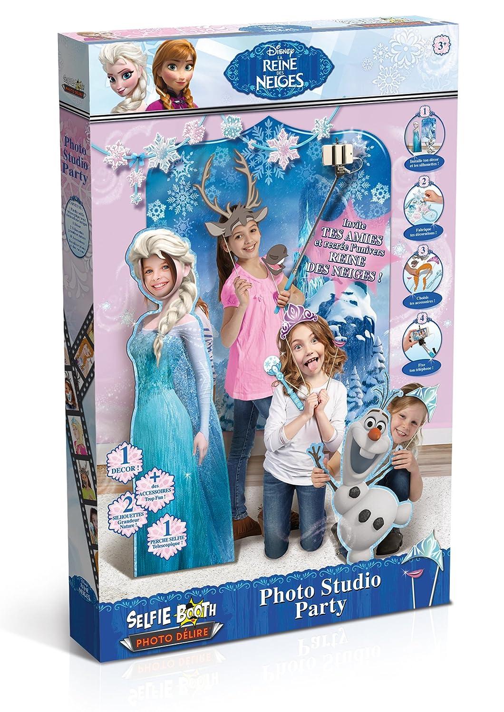 Canal Toys - CT25003 - La Reine des Neiges - Selfie Booth - Photo Délire - Studio