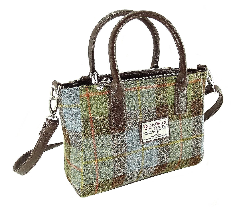 Glen Appin Harris Tweed Tote Handbag LB1227 FINDHORN Scelta di Colori
