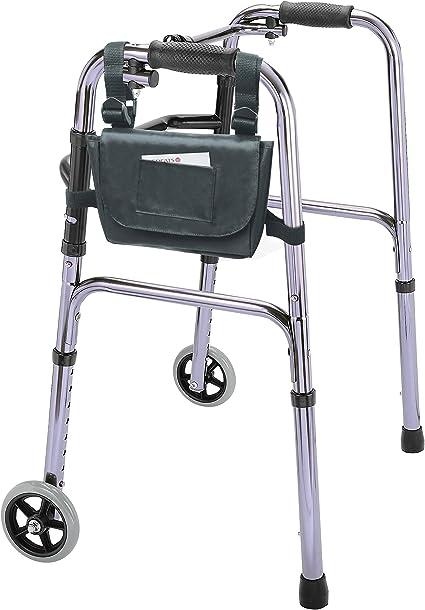 Amazon.com: Moda Silla de ruedas/andador reposabrazos lado ...