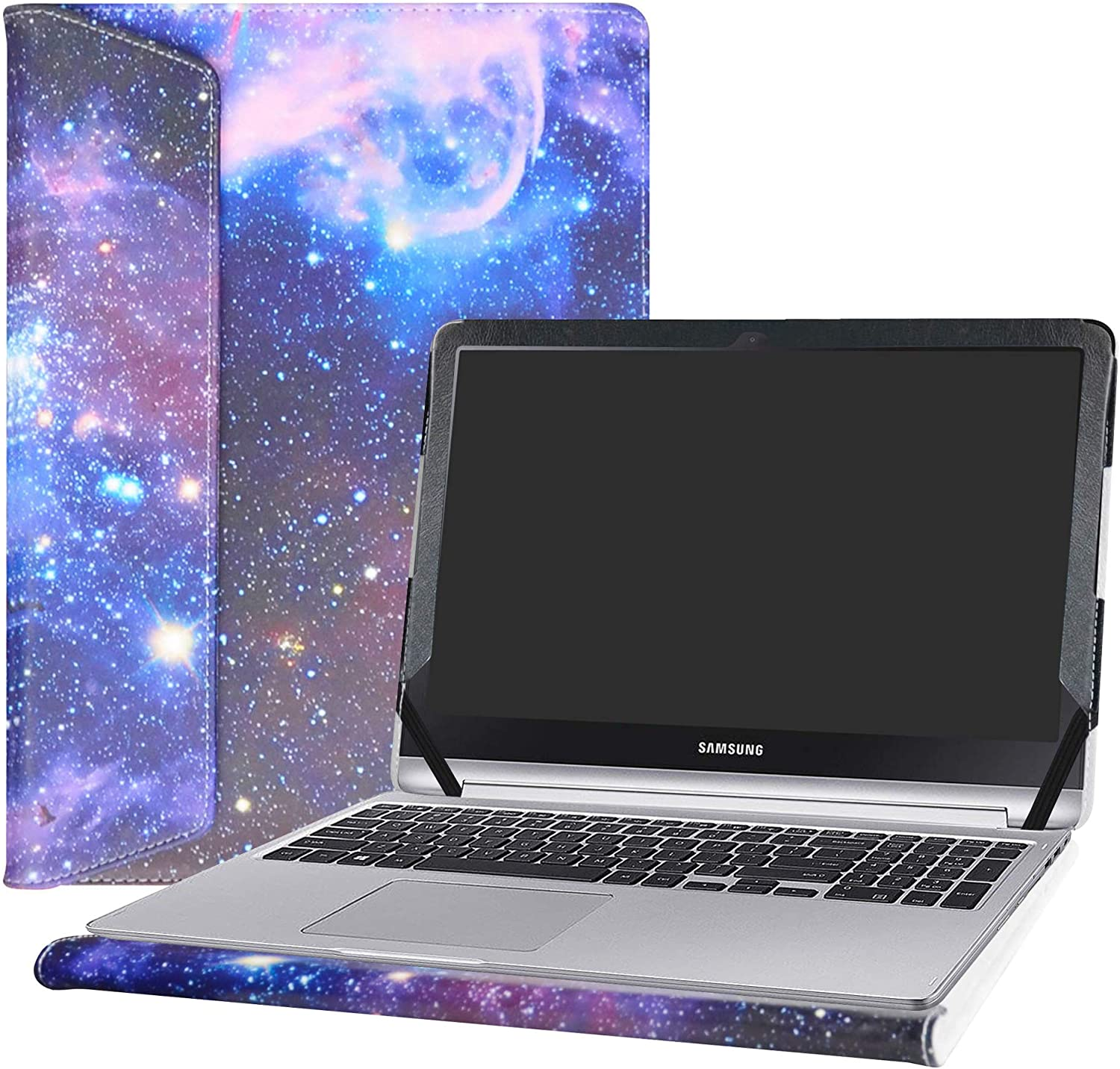 """Alapmk Protective Case Cover for 15.6"""" Samsung Notebook 7 Spin 15 NP740U5L NP740U5M Series Laptop(Warning:Not Fit Samsung Notebook 7 Spin 13/Notebook 5/Notebook 9),Galaxy"""