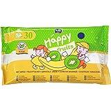 Bella Baby Happy Toilettentücher für Kinder Fruits Kiwi und Banane, 5er Pack (5 x 30 Tücher)