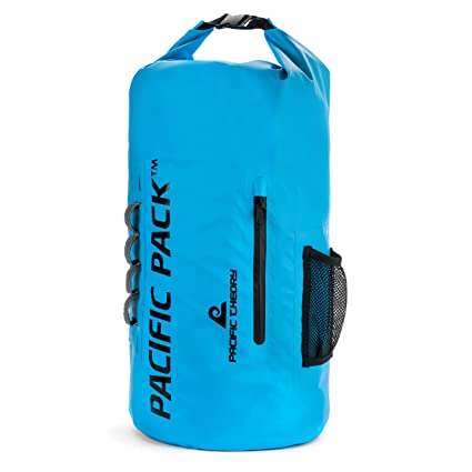 e376c92f7e Pacific Theory Dry Bag - Eco Waterproof Mens Womens and Kids Large Wet Bags  - Ultra Light Floating Organizer Sack with Small Pocket - Universal Travel  ...