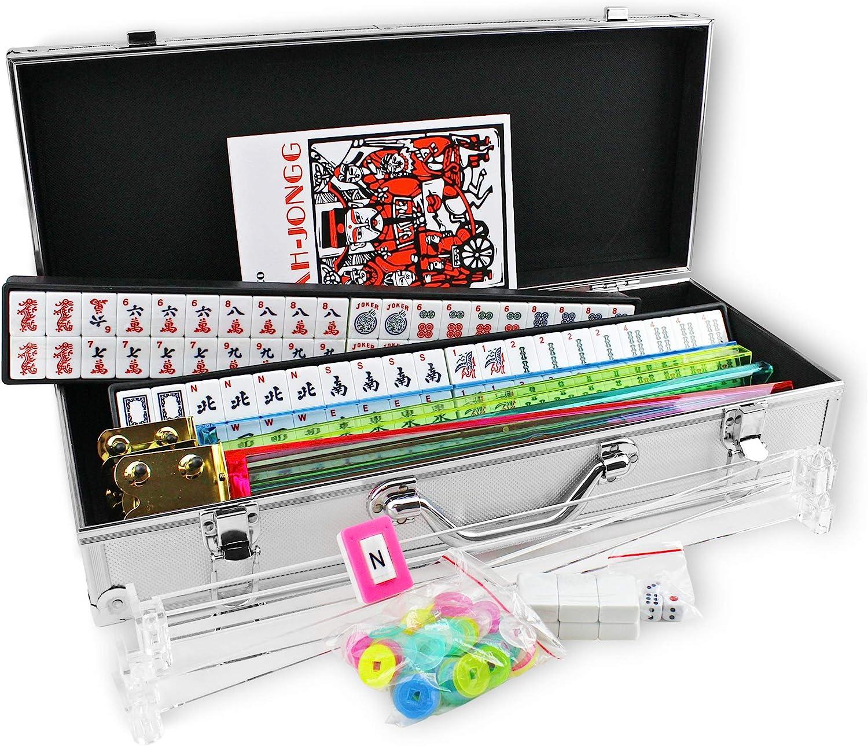957213096X Kai Tai Inc 4 Pushers Complete American Mahjong Set in Aluminum Case, 166 Tiles(mah Jong Mah Jongg Mahjongg) 81uWXpHnaeL