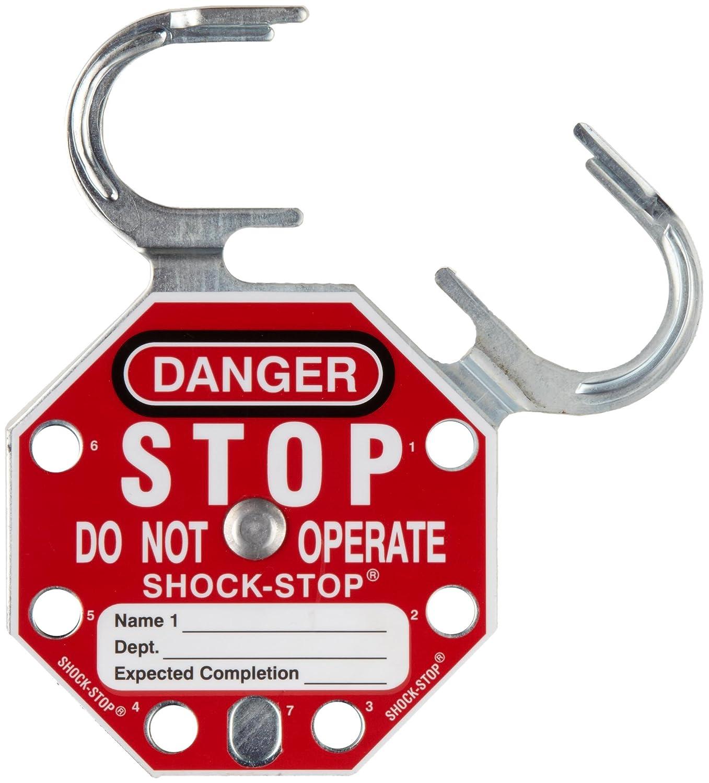 SPC Shock-Stop Lockout Hasp (Pack of 5) Brady 87693