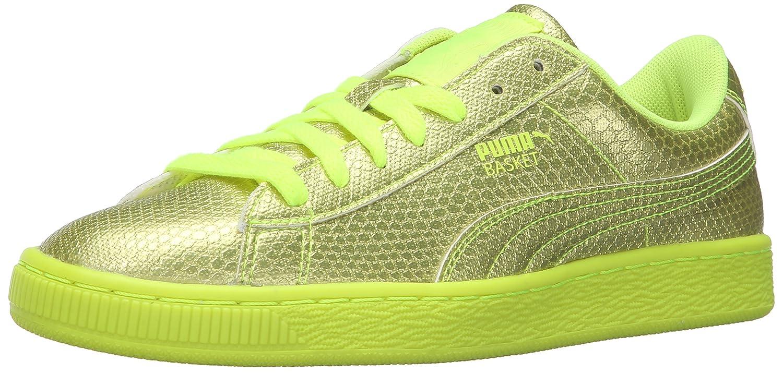 PUMA Women's Basket Future Minimal WN's Fashion Sneaker B01A82EVHM 9 M US|Safety Yellow