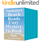 Summer Beach Reads Cozy Mystery 16-Book Set
