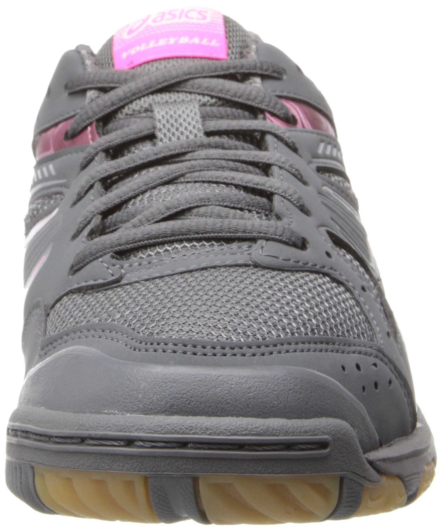 ASICS Women's Gel 1150V Volley Ball Shoe,Smoke/Knock Out Pink/Silver,8 M US by ASICS (Image #4)