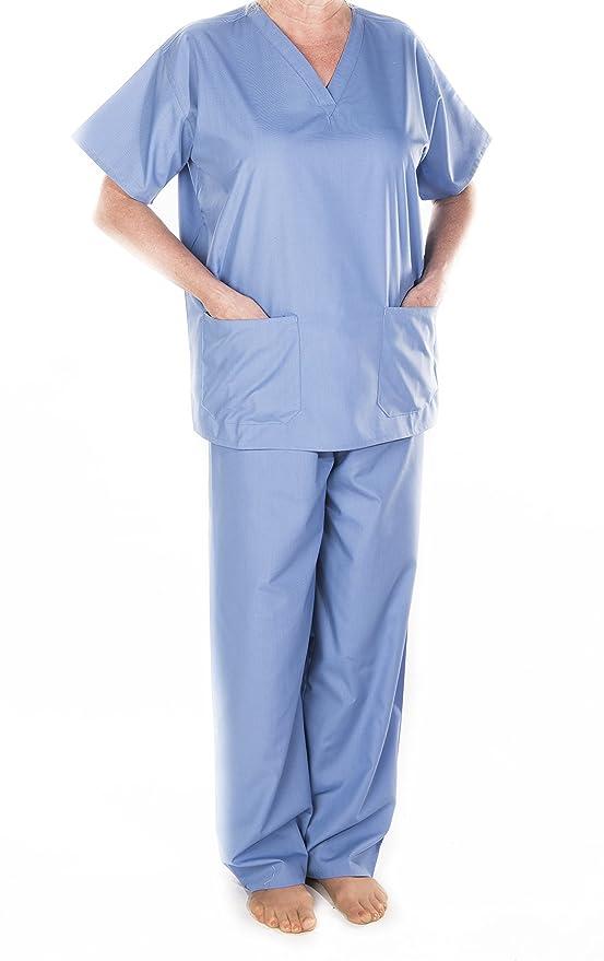 Médicos Veterinarios Scrub Túnica Top/túnicas, Hospital Uniforme, médicos, Workwear, Unisex, Verde, Azul Marino, Azul, XS, pequeño, Medio, Grande, XL, ...