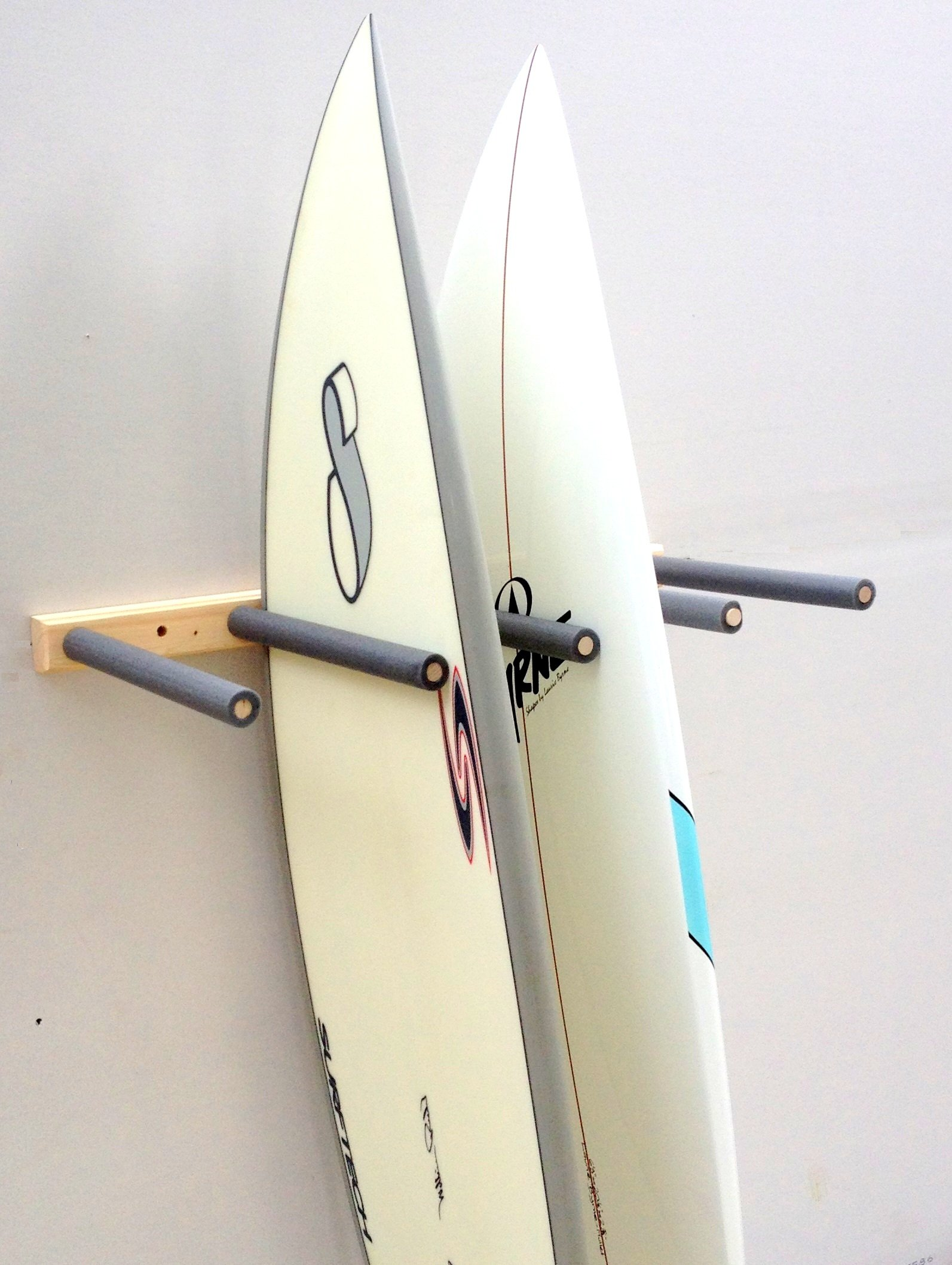 Vertical Surfboard Storage Rack