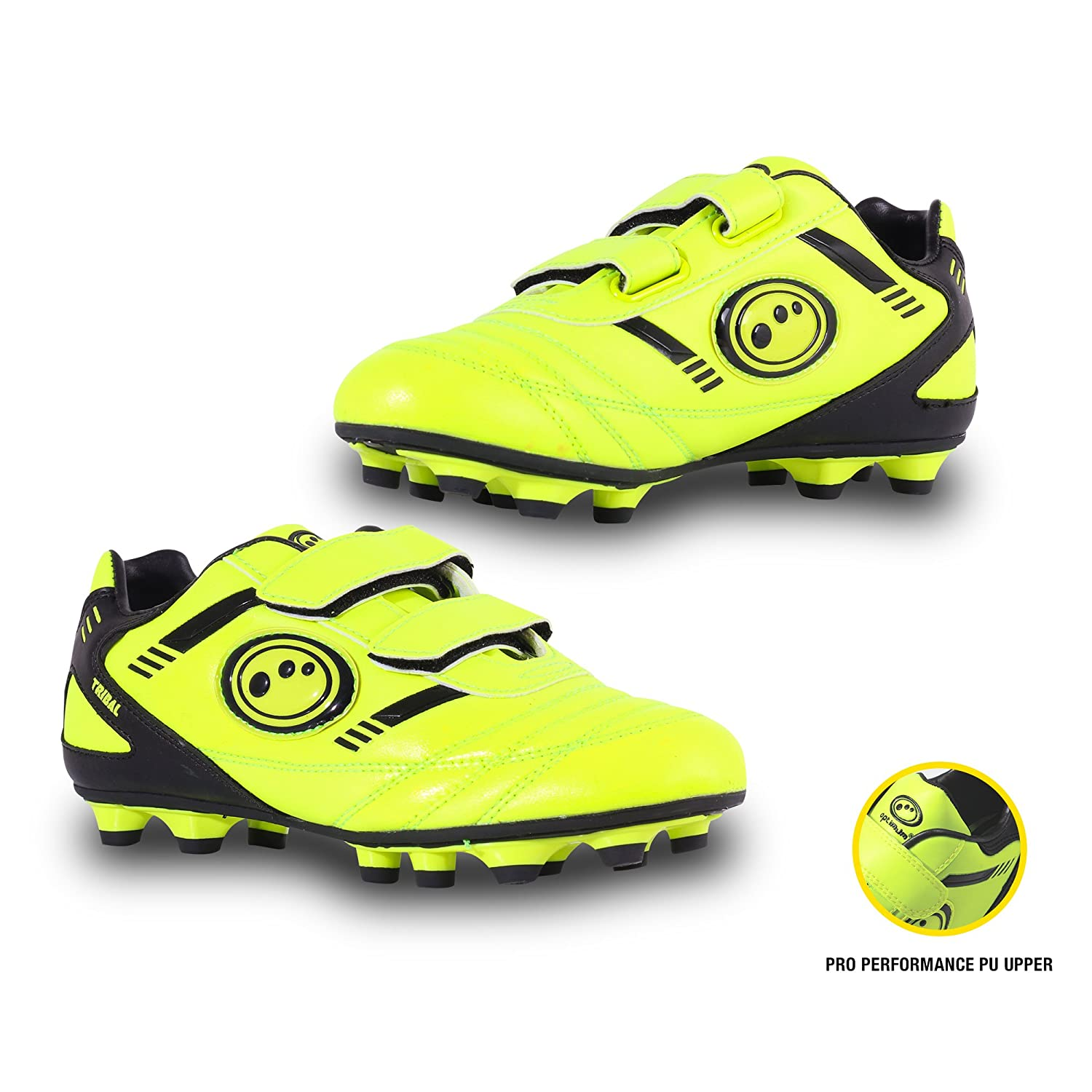 OPTIMUM Tribal Velcro Moulded, Football Entrainement Garçon