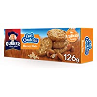 Quaker Oat cookies with Honey Nuts, 126g, Family Pack