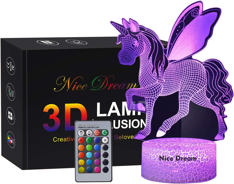 NICI 42537 Electronics Licorne Cloud Dreamer avec Haut-Parleur Bluetooth et LED Beige 32 cm