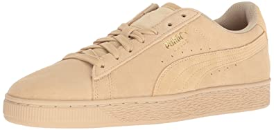 SUEDE CLASSIC - Sneaker low - pebble/white