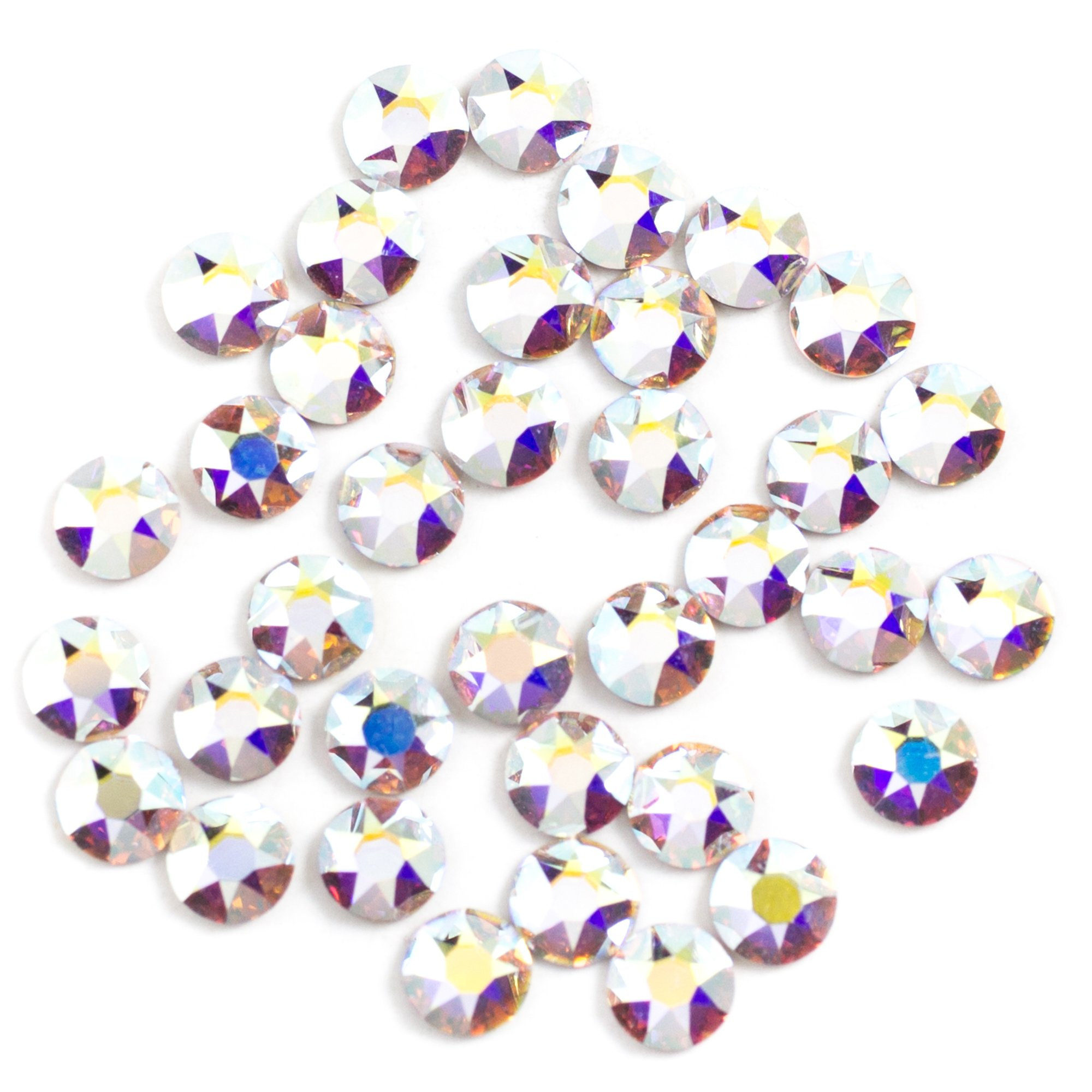 Swarovski - Create Your Style Hotfix 3mm Crystal Ab 3 packages of 36 Piece (108 Total Crystals)