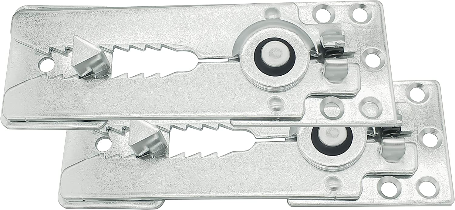 Merrian Living Sectional Couch Connectors, Snap Couch Clips, 2 pcs Pack, Furniture Connectors with Screws.
