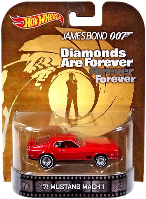 Coche de Calidad 1//43 James Bond 007 Ford MUSTANG Mach 1 Diamantes Are Siempre
