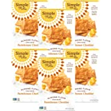Simple Mills Almond Flour Crackers, Farmhouse Cheddar, Gluten Free, Flax Seed, Sunflower Seeds, Corn Free, Good for Snacks, M