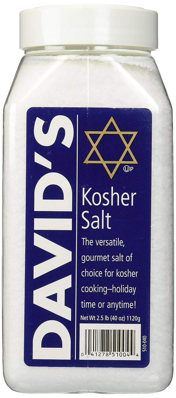 David's Kosher Salt 2.5 Pounds (40 Ounces) : Grocery & Gourmet Food