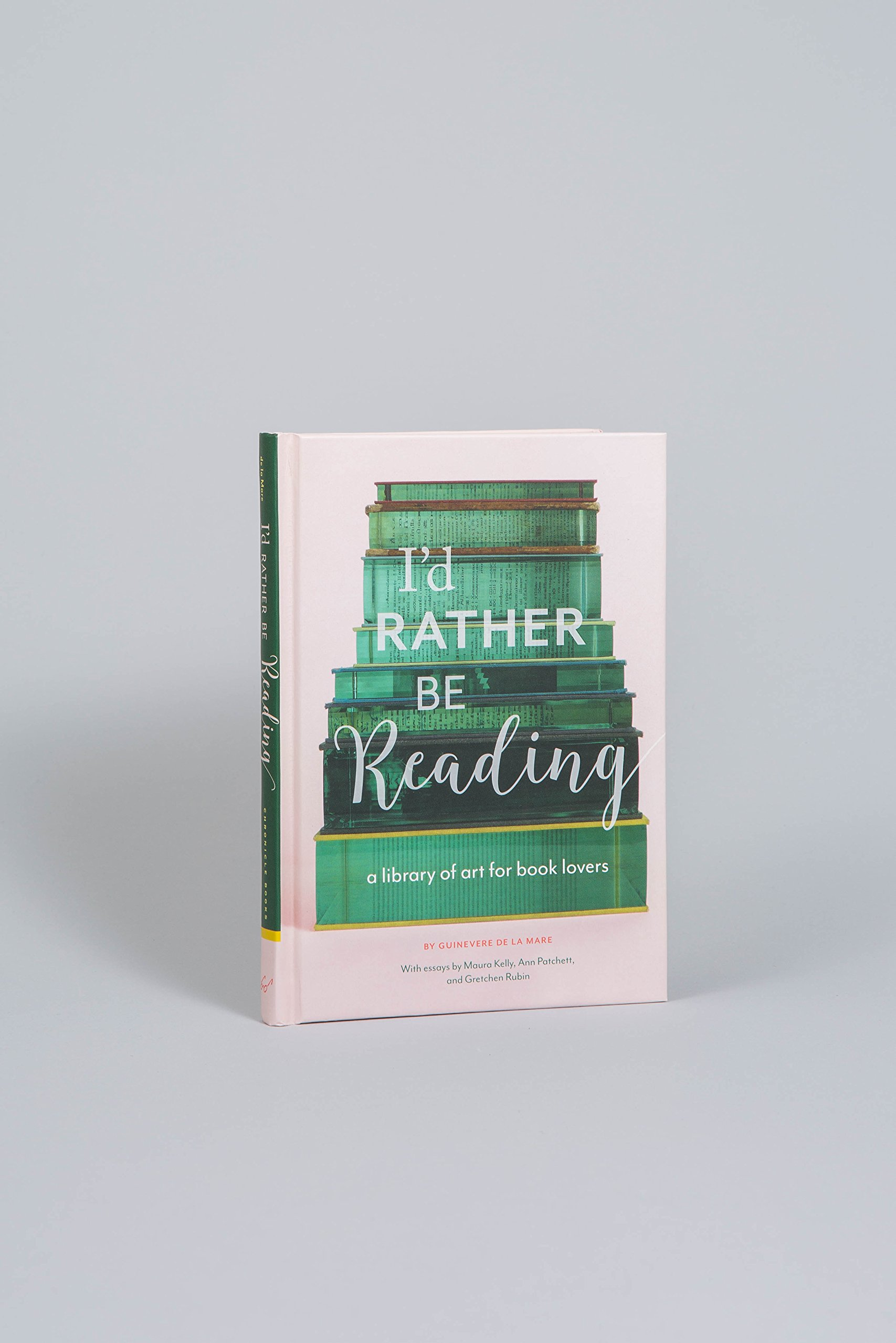 I'd Rather Be Reading: A Library Of Art For Book Lovers: Amazon:  Guinevere De La Mare: 9781452155111: Books